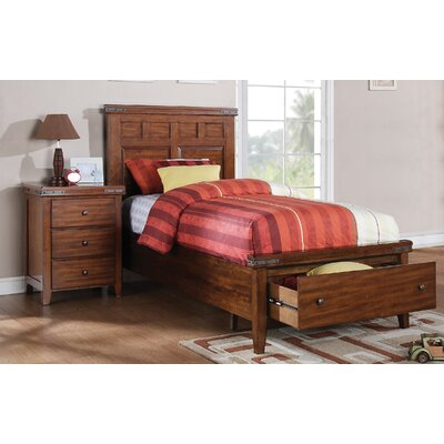 Loon Peak Twin Platform Customizable Bedroom Set