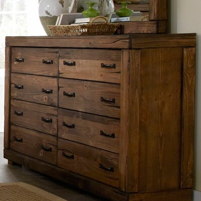Loon Peak Hilton 8 Drawer Dresser