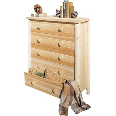 Loon Peak Lonato 5 Drawer Dresser