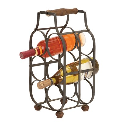 Loon Peak Kremmling 6 Bottle Tabletop Wine Rack