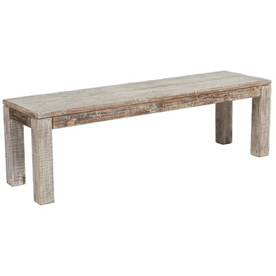 Loon Peak Saviers Wood Kitchen Bench