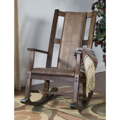 Loon Peak Birney Rocking Chair