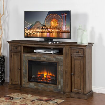 Loon Peak Birney TV Stand with Electric Fireplace