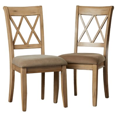 Loon Peak Castle Pines Side Chair in Antique White (Set of 2)