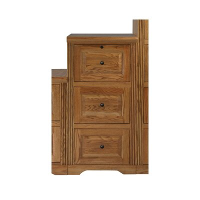 Loon Peak Glastonbury 3-Drawer File