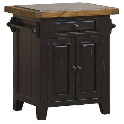 Loon Peak McAlester Kitchen Island with Granite Top