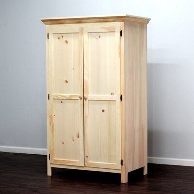 Loon Peak Wade Panel Door Armoire