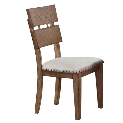 One Allium Way Plessis Plank Side Chair (Set of 2)