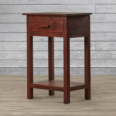 Loon Peak Adobestone 1 Drawer Nightstand