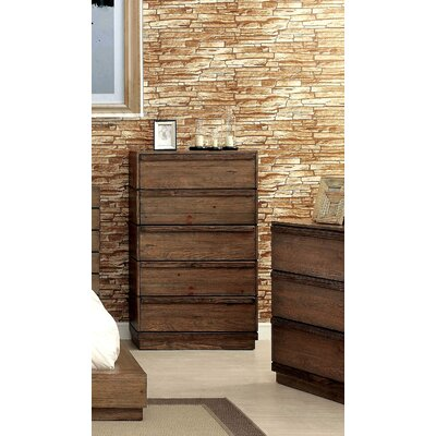 Loon Peak Elliston 5 Drawer Chest