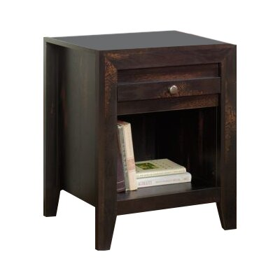 Loon Peak Signal Mountain 1 Drawer Nightstand