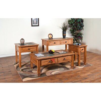 Sunny Designs Sedona Console Table with S..