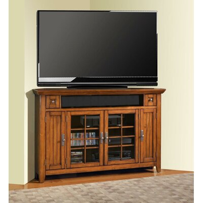 Loon Peak Columbine Valley Corner TV Stand