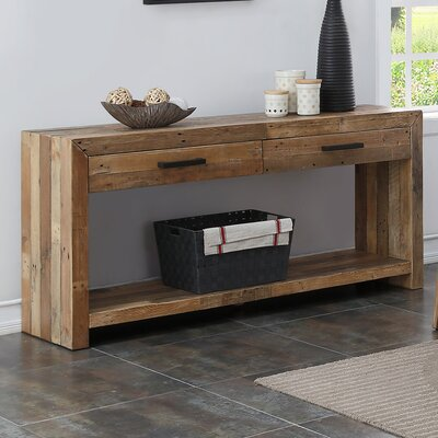 Loon Peak Fort Morgan Console Table