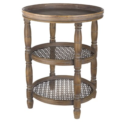 Loon Peak Deer Trail Round End Table