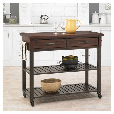 Loon Peak Rockvale Kitchen Island