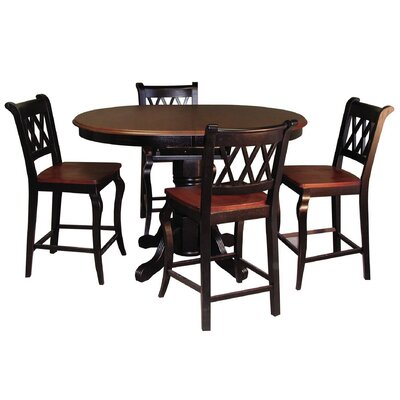 Loon Peak Copernicus 5 Piece Pub Table Set