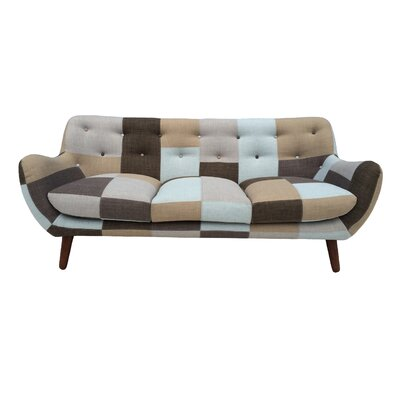 Loon Peak Cloudveil Bridgewater Patchwork Sofa