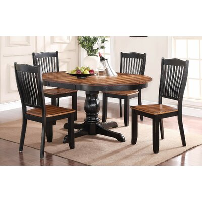 Loon Peak Manassa 5 Piece Extendable Dining Set