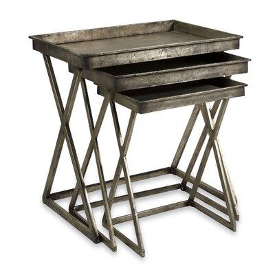 Trent Austin Design 3 Piece Leaf Tray Tab..