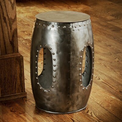 Trent Austin Design Curlew Industrial Barrel Stool