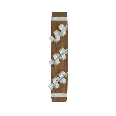 Trent Austin Design El Cajon 3 Bottle Wall Mounted Wine Rack