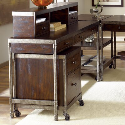 Trent Austin Design Leora Credenza Desk with Hutch