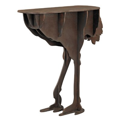Trent Austin Design Attayac Ostrich Legs Accent Table