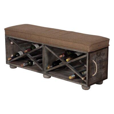 Trent Austin Design Guild Master Wine Crate Ottoman