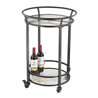 Trent Austin Design Brandon Bar Serving Cart