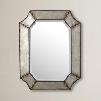 Bronze Wall Mirror 17 stories modern bronze wall mirror & reviews | wayfair