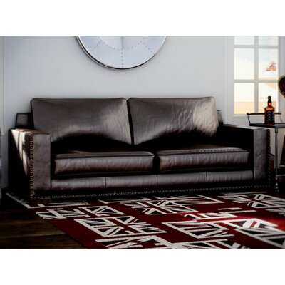 Trent Austin Design Lemon Grove Leather Sofa