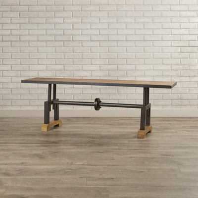 Trent Austin Design Montclair Wood Kitchen Bench