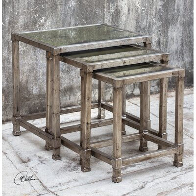 Trent Austin Design 3 Piece Nesting Table Set (Set of 2)