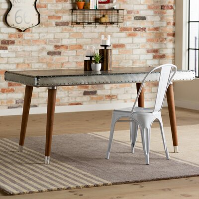 Trent Austin Design Hanford Aluminum Top Dining Table