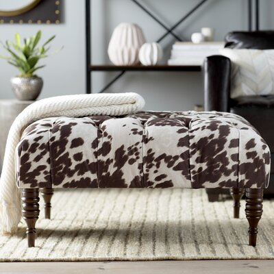 Trent Austin Design Hurley Tufted Cocktail Ottoman