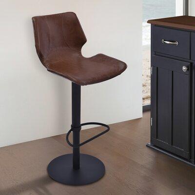 Trent Austin Design Oklahoma Adjustable Height Swivel Bar Stool with Cushion