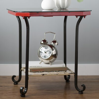 Trent Austin Design Wasco Clock End Table