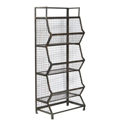 Trent austin design pinehurst metal bin 54 etagere wayfair - Etagere modulable metal ...