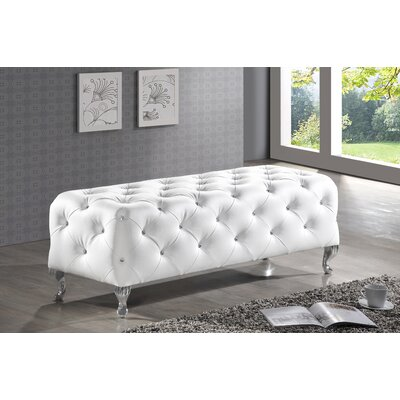 House of Hampton Rosanna Upholstered Bedroom Bench