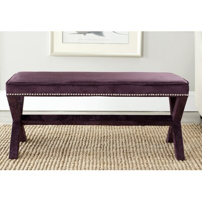 House of Hampton Conner Nailhead X Entryway Bench