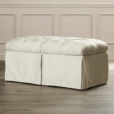House of Hampton Cooper Tufted Upholstered Microdenier Storage Bench