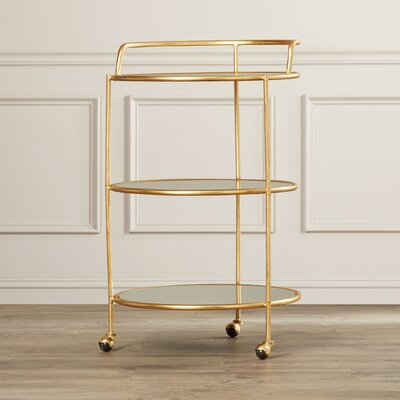 House of Hampton Dulcinea Bar Serving Cart