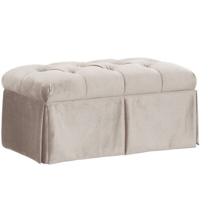 House of Hampton Belle Upholstered Storage Bench