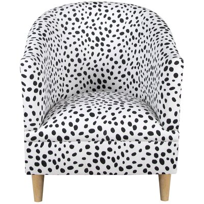House of Hampton Beckinsale Polka Dot Tub Chair Image