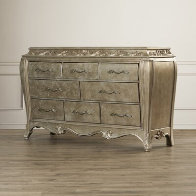 House of Hampton Holmes 8 Drawer Dresser