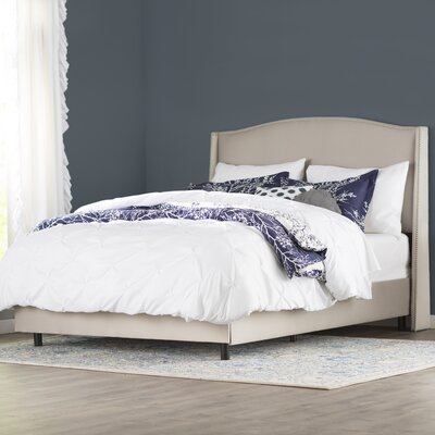 House of Hampton Brezina Upholstered Panel Bed