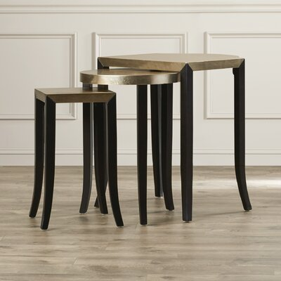 House of Hampton Paula 3 Piece Nesting Tables