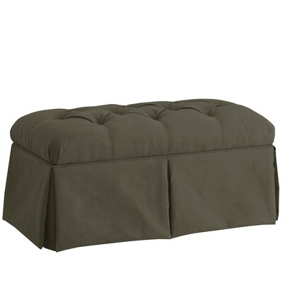 House of Hampton Deville Skirted Upholstered St..