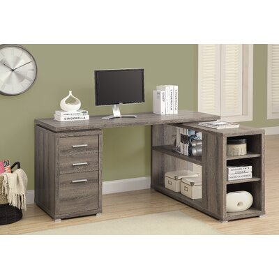 House of Hampton Charisse L-Shaped Corner Desk